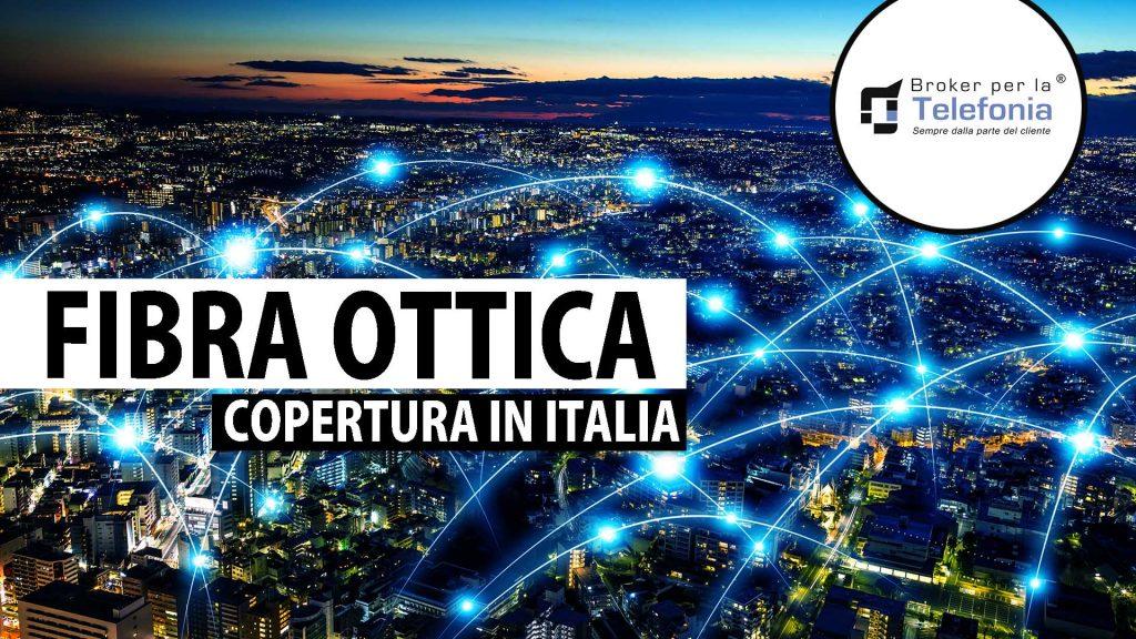 copertura fibra ottica in Italia