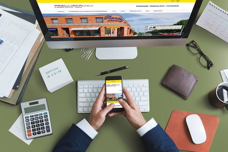 Risultati del Web Marketing Mobile: Caso Studio di Arzilli & Scali Group