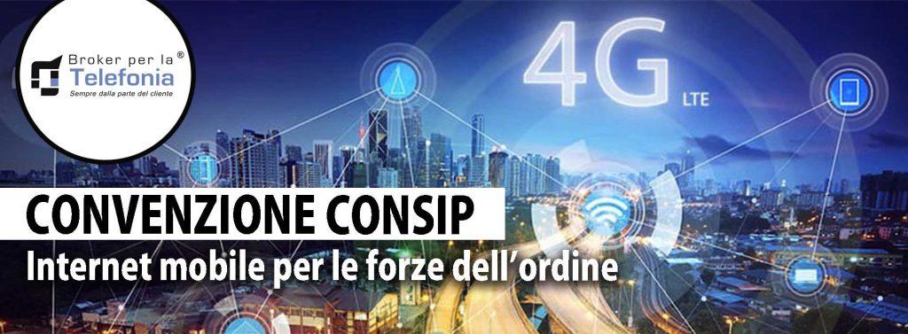 Convenzione Consip Internet Mobile per le Forze dellOrdine