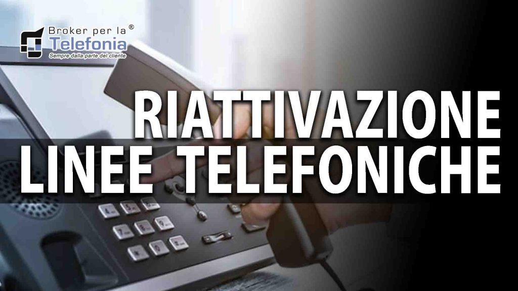 Riattivazione-Linea telefonica Aziendale-Dopo-Sospensione