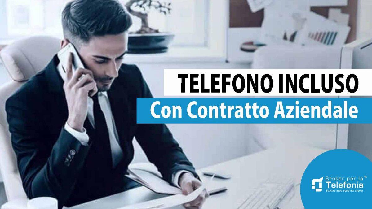 telefono incluso nel contratto aziendale