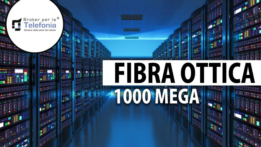 Fibra Ottica 1.000 Mega