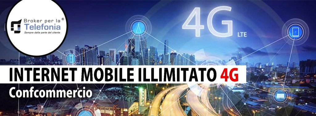 Internet Mobile Illimitato 4g confcommercio