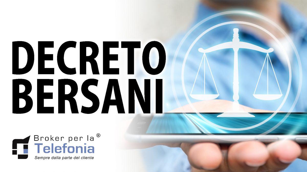 Legge Bersani TIM, Vodafone, Wind, H3G, Fastweb: Cos'è e Cosa è Cambiato