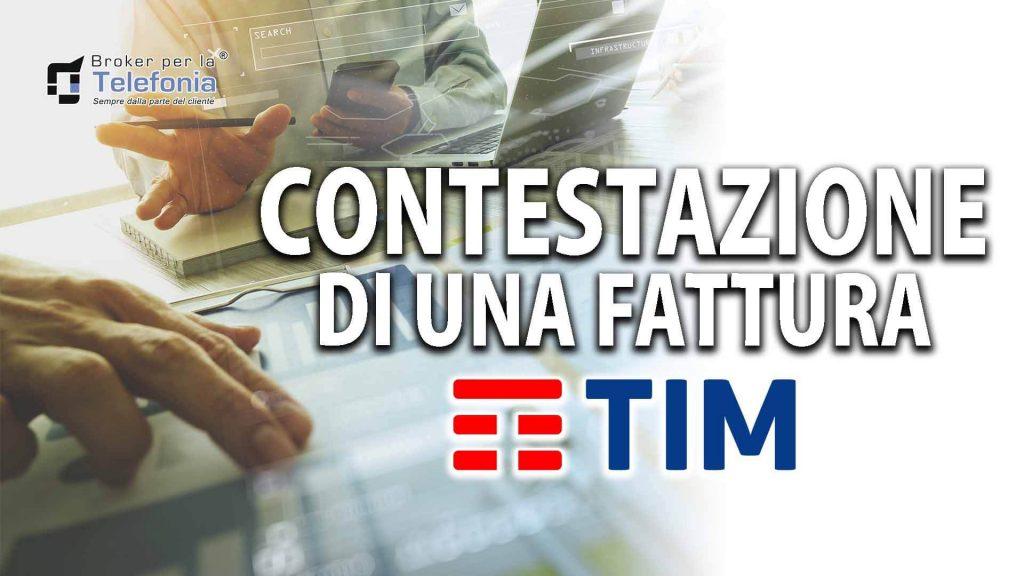 Contestazione Fattura Tim-Telecom