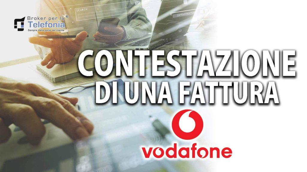 Contestazione di una Fattura Vodafone – La Procedura Corretta