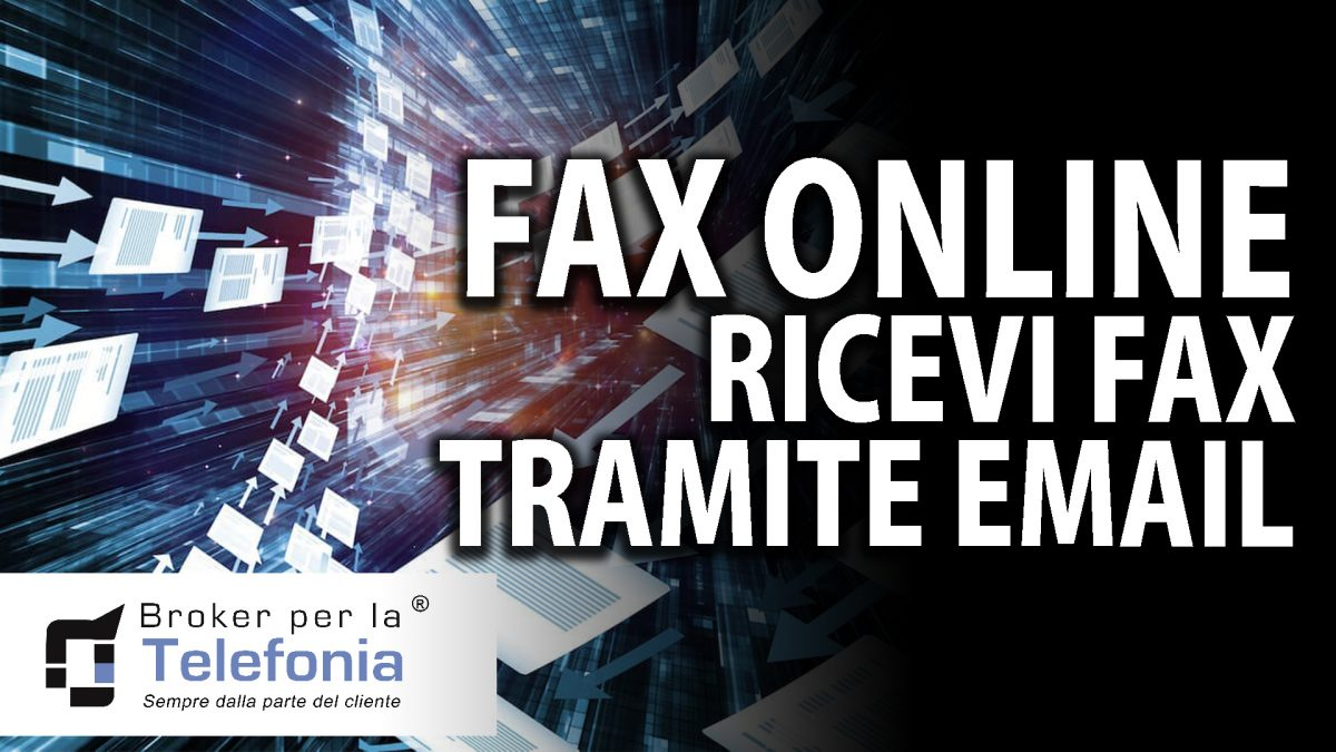 Fax Online Ricevi Fax Tramite Email