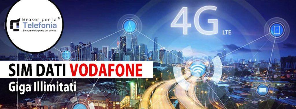 Sim Dati 4G Vodafone Giga Illimitati
