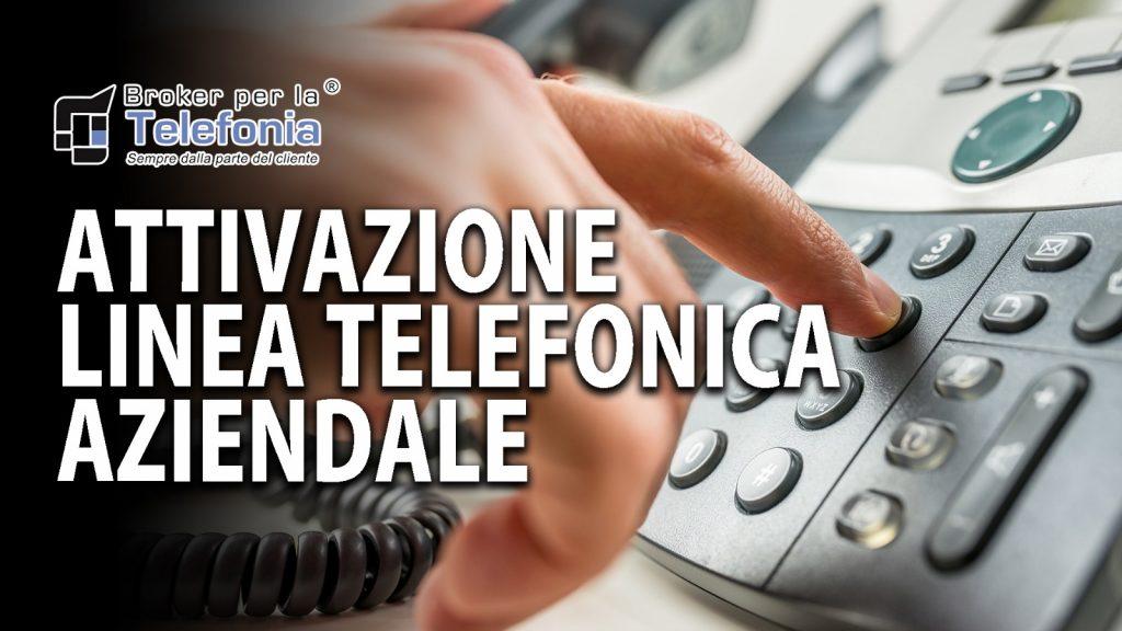 attivazione linea telefonica aziendale