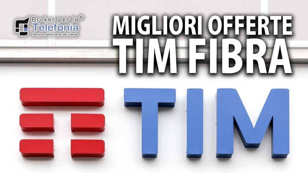 offerte TIM fibra ottica internet