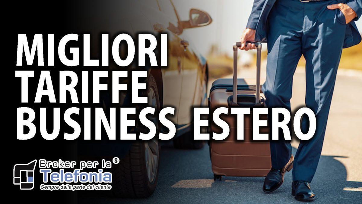migliori tariffe estero business