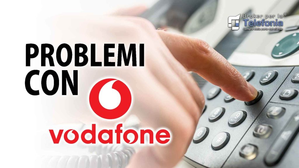 Problemi con Vodafone business