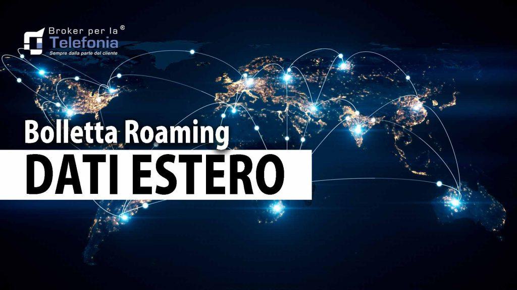 bolletta roaming dati estero