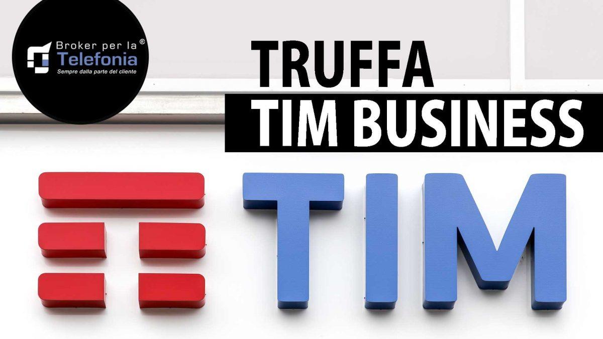 truffa tim business