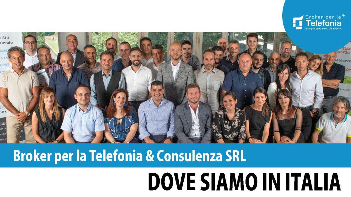 Broker per la Telefonia Dove Siamo in Italia