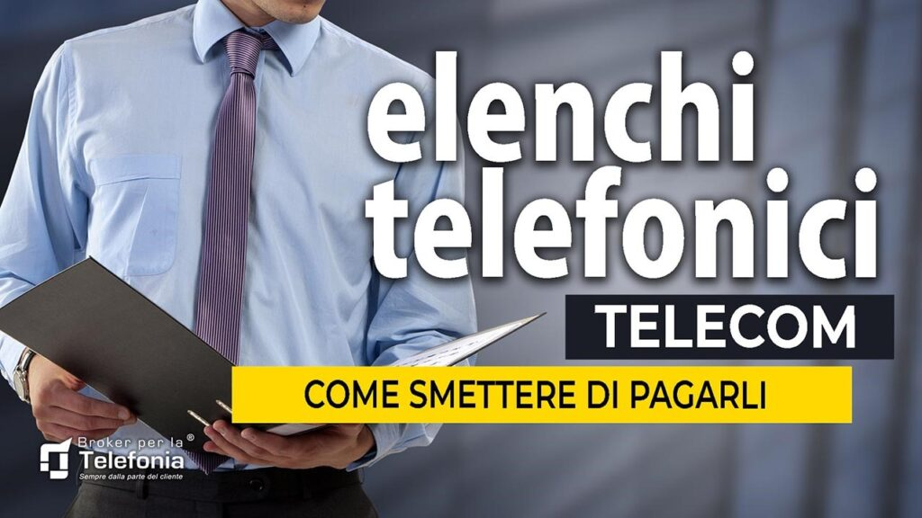 ELENCHI TELEFONICI TELECOM