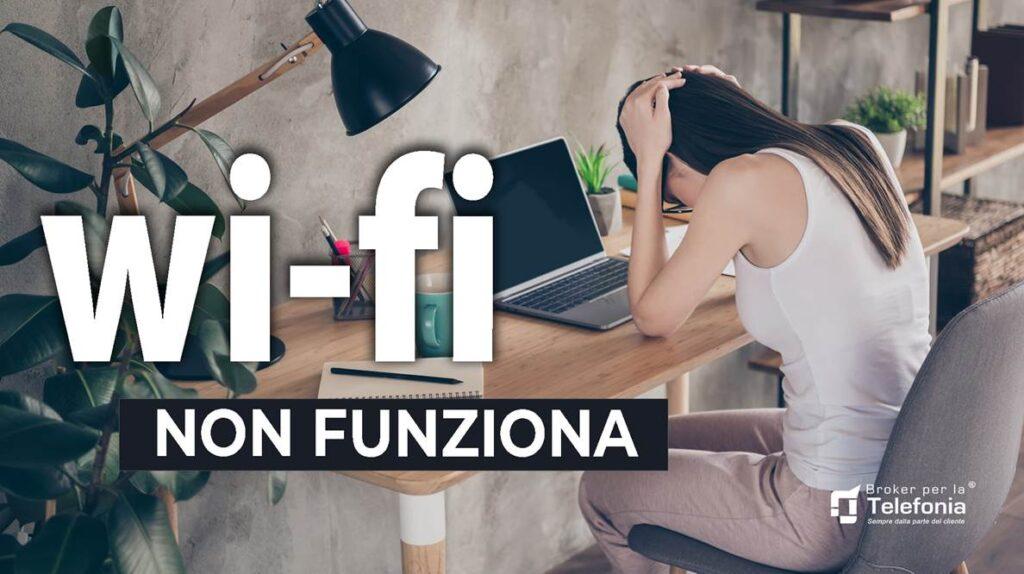 Wi Fi Non Funziona